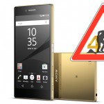 Baustelle 4k-Display – Sony Xperia Z5 Premium mit  ...