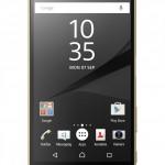 Sony Xperia Z5 Premium s70p_gold_front_DE