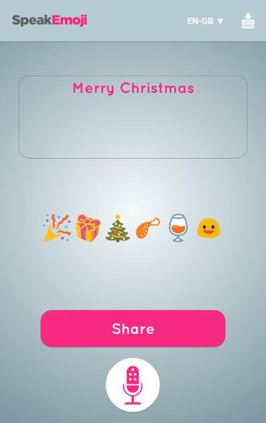 SpeakEmoji Merry Christmas