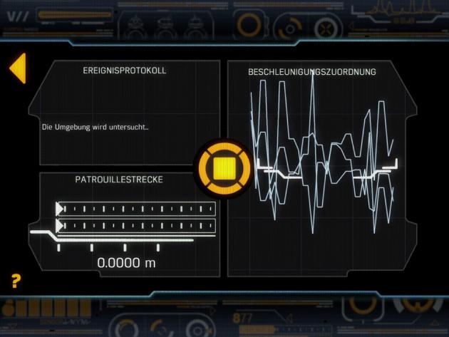 Im Patrouillen-Modus liefert die App vom Sphero BB-8 etliche Daten, die wenigsten davon sind sinnvoll. Eigentlich gar keine.