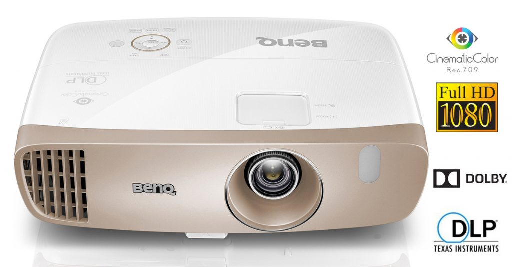 Test: BenQ W2000: Full-HD-Beamer mit Farben wie im Kino