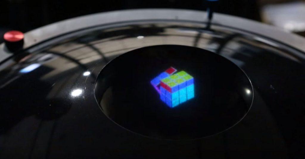 Holodeck voraus: Forscher entwickeln Farb-Hologramm und Holo-TV