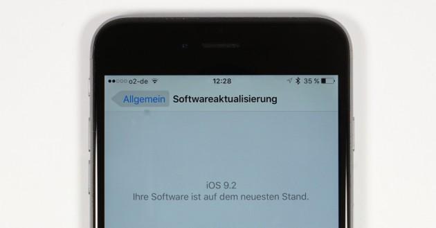 iOS 92 Update