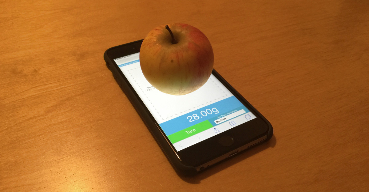 Iphone Waage Test