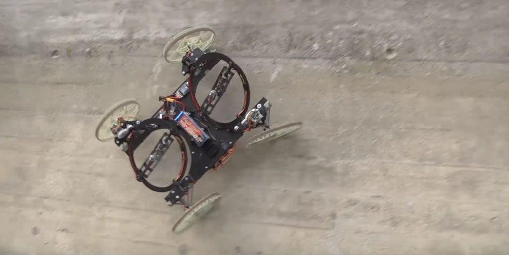 VertiGo: Der Roboter, der die Wand hochgeht