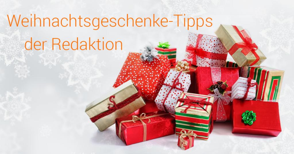 Weihnachtsgeschenke-Tipps der Redaktion
