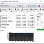 HDTune SSD Extra und Cache