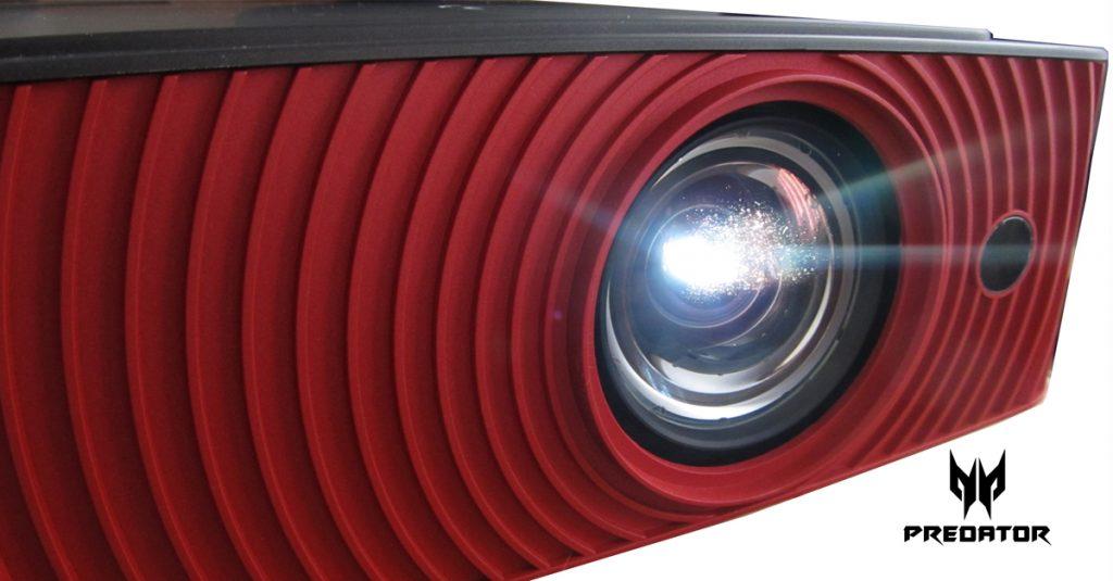 Test: Acer Predator Z650 erster Gaming-Projektor mit 100% sRGB Abdeckung und Nvidia 3DTV Play