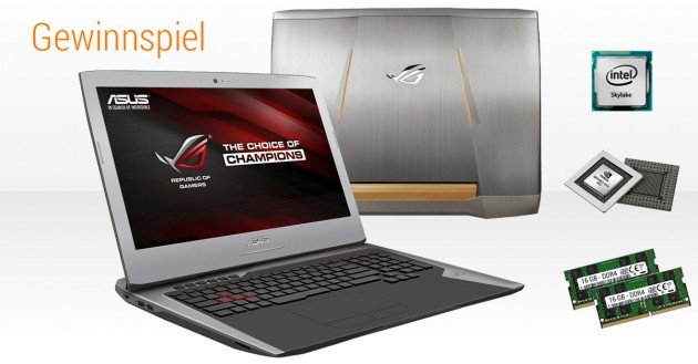 Asus G752VY-GC087T Aufmacher