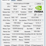 Angaben zur Nvidia Grafik