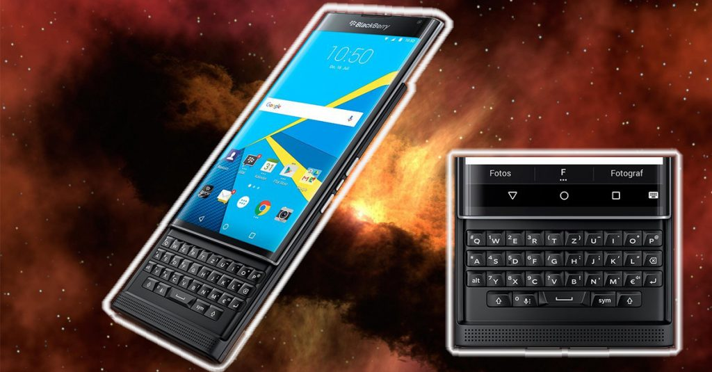 Test: Blackberry Priv – Android-Smartphone mit Dual-Curved Display und physischer Tastatur