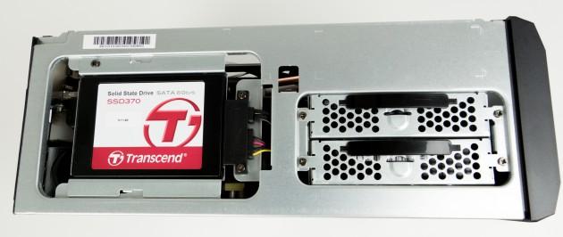Einfacher Zugriff auf HDDs und SSD