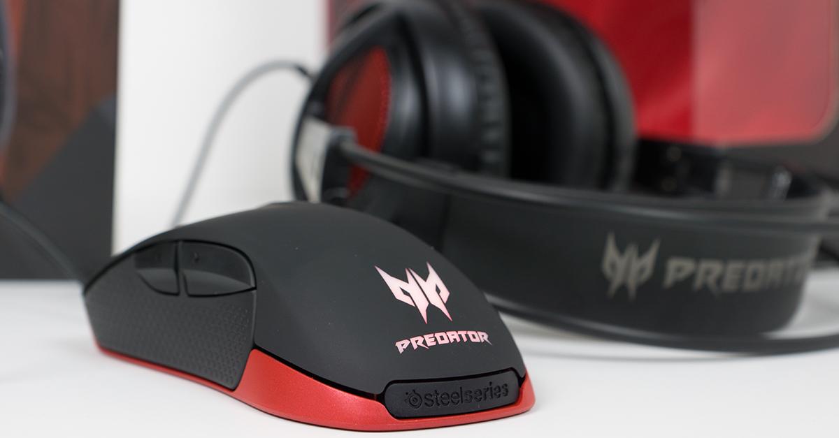 Kurztest Acer Predator Gaming Mouse Headset
