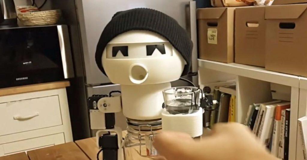 Dein Roboter, der Saufkumpan: Prost mit Drinky