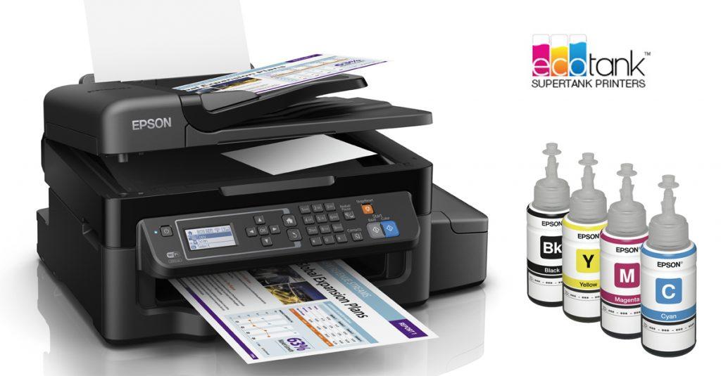 Test: Epson ET-4500 Multifunktions-Drucker mit riesigen EcoTanks statt Einzelpatronen