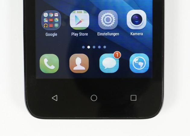 Huawei Y5 Sensortasten
