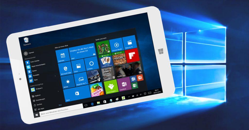 Kurztest: MP Man MPW815 – handliches 8-Zoll-Tablet mit Windows 10