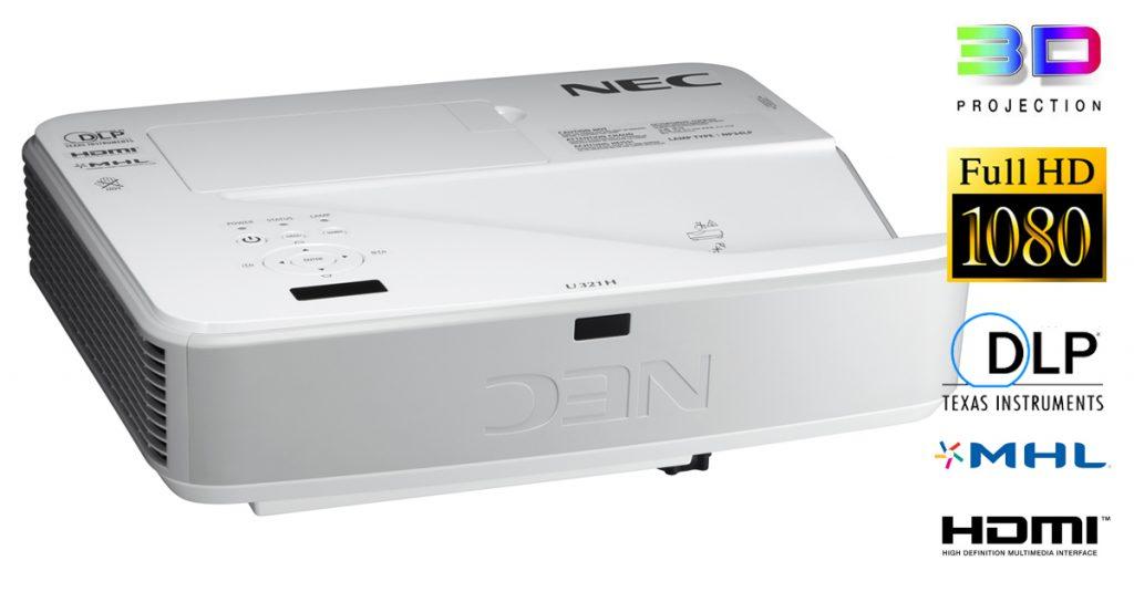 NEC u321h Ultrakurzdistanzbeamer im Test – Heimkino wie es sein sollte