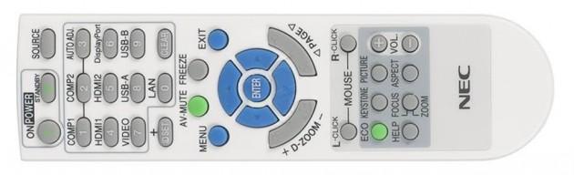 NEC-U321H-Fernbedienung1