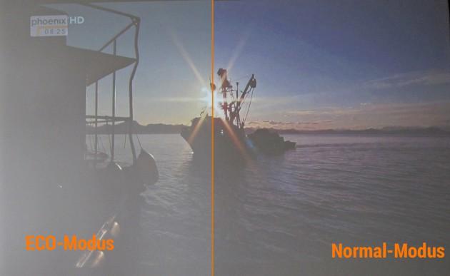 NEC U321h Helligkeitsvergleich