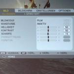 NEC U321h settings-Modus