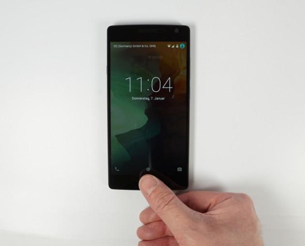 OnePlus 2 Entsperren mit Fingerabdruck