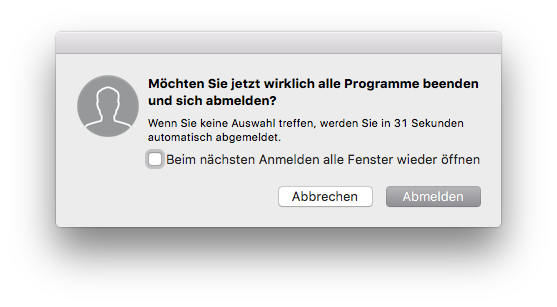 Schneller Mac Fenster schließen