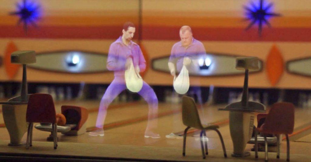 Holorama: Filmszenen als Hologramm-Kunst im optischen Theater