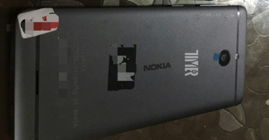 Nokia Smartphone aus Metall zeigt sich auf ersten Bildern