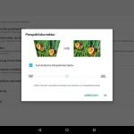 Die automatische Trapezkorrektur des Lenovo Yoga Tablet 3 Pro funktioniert hervorragend.