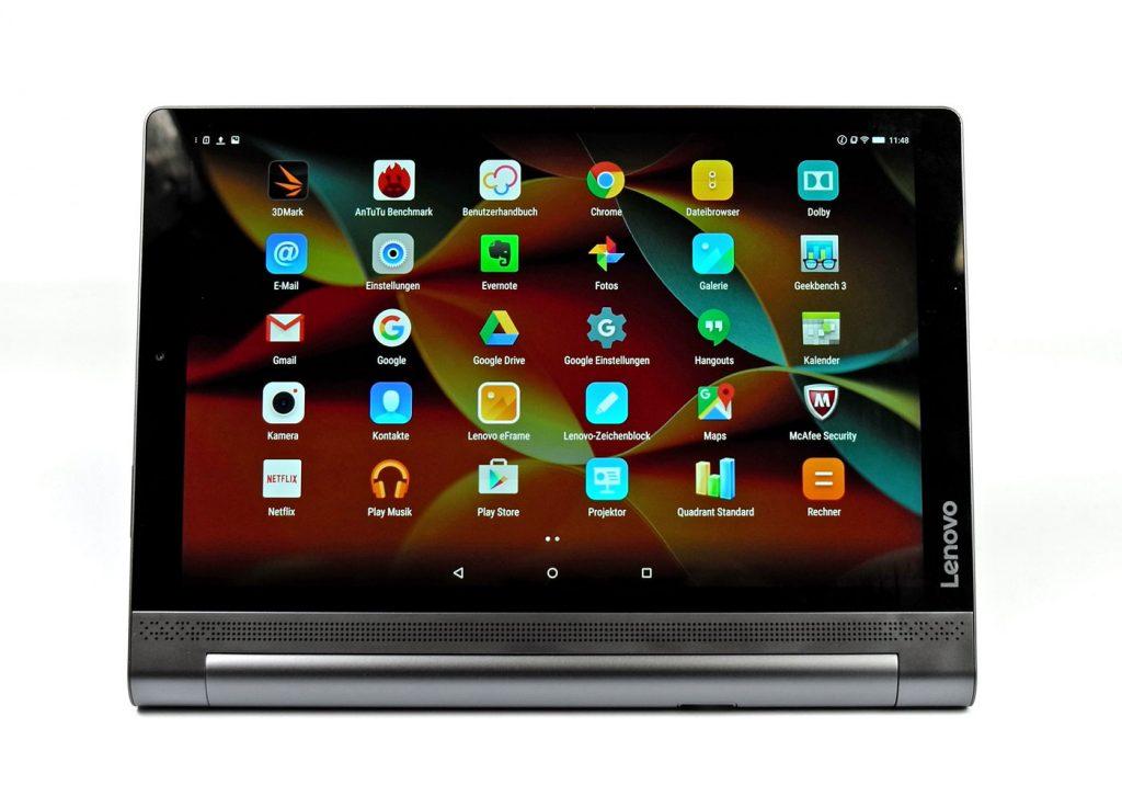 Praxistest: Lenovo Yoga Tablet 3 Pro, das Android-Tablet mit integriertem Beamer