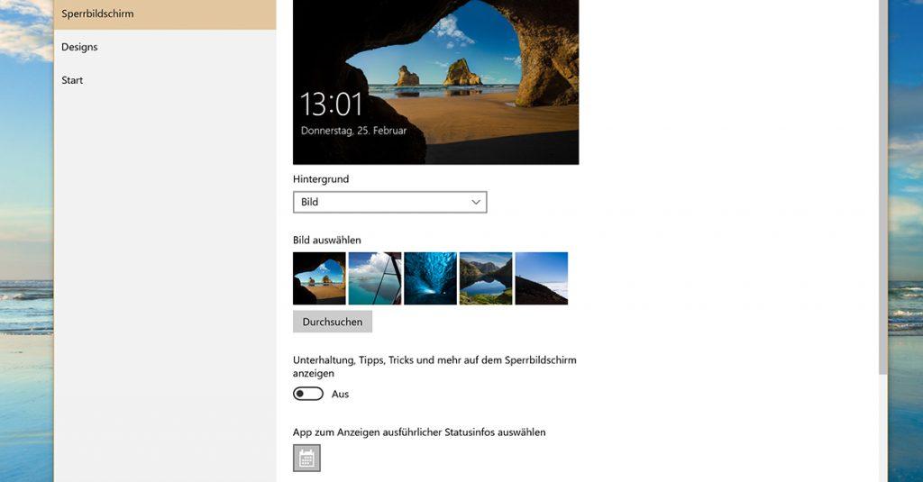Windows 10: Werbung entfernen