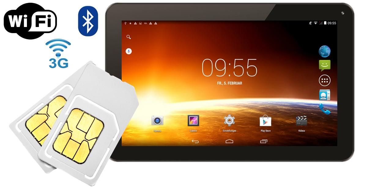 99 dual sim tablet mit 10 1 zoll display. Black Bedroom Furniture Sets. Home Design Ideas