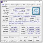 Angaben zum Intel Prozessor