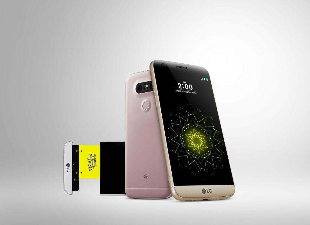 LG G5 mit austauschbaren Modulen offiziell vorgestellt