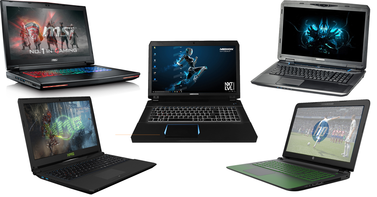 Besten Gaming Notebooks