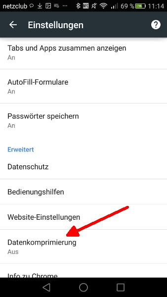 Google Chrome Schritt 3