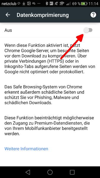 Google Chrome Schritt 4