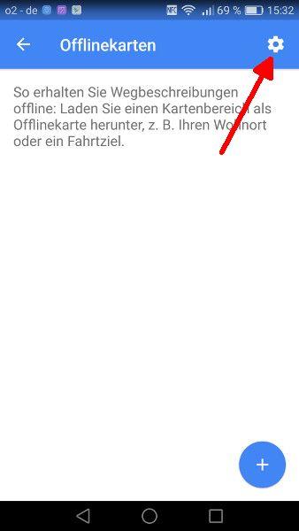 Google Maps offline Schritt 3-1