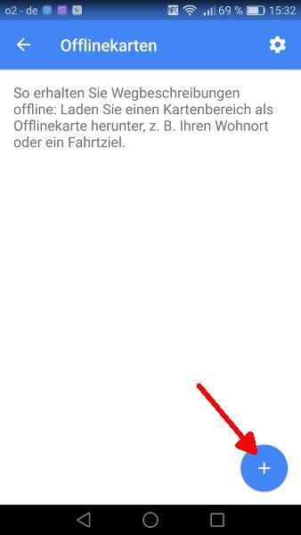 Google Maps offline Schritt 3-2