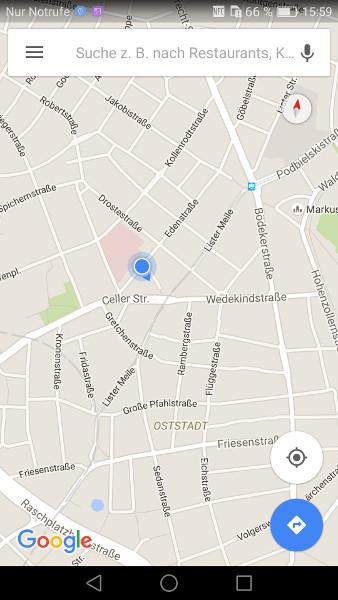 Google Maps offline Schritt 8