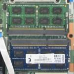 Eingestecktes 2. S0-DIMM-Modul