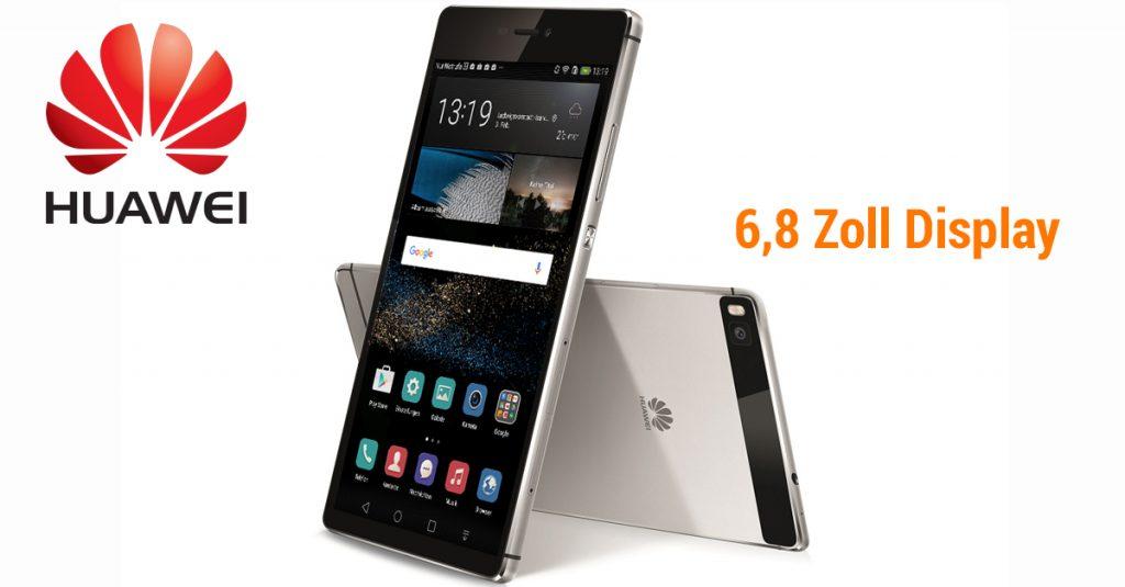 Huawei P8 Max im Test – Dual-SIM-Smartphone mit 6,8 Zoll FullHD-Display