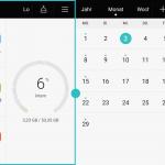 Dualscreen (zwei Apps gleichzeitig)