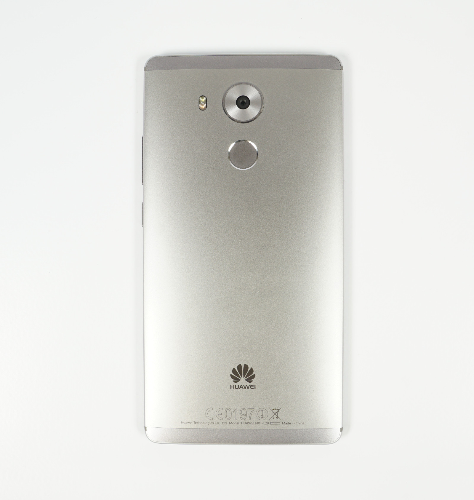 Test Huawei Mate 8 High End Androide Mit Langem Atem Ascend Y520 4gb Rueckseite