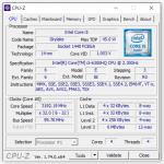 Angaben zum Prozessor