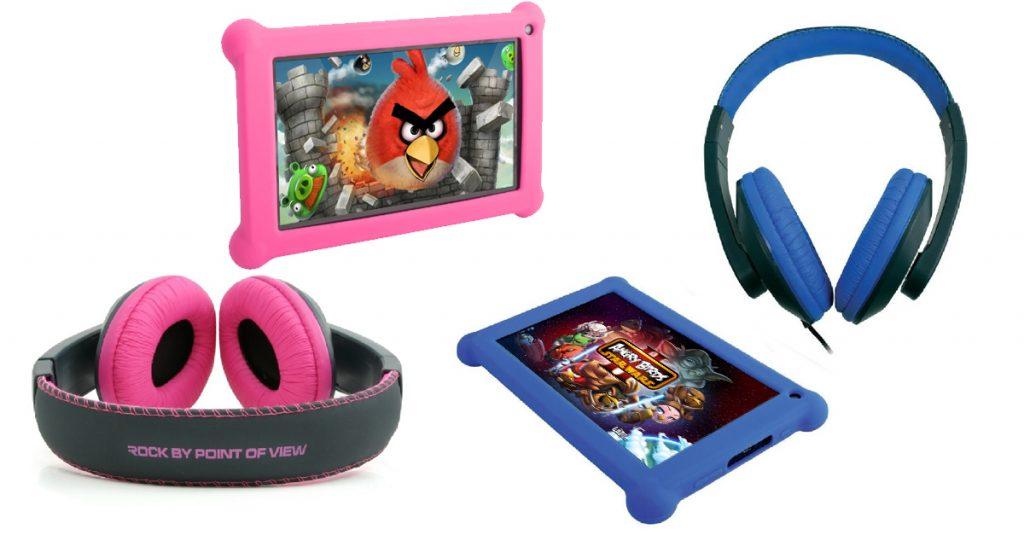 Test: Point of View Mobii Kids Tablet Bundle inkl. Schutzhülle plus Stereo-Kopfhörer