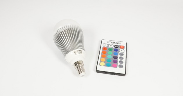 Test Technaxx RGB LED Bulb