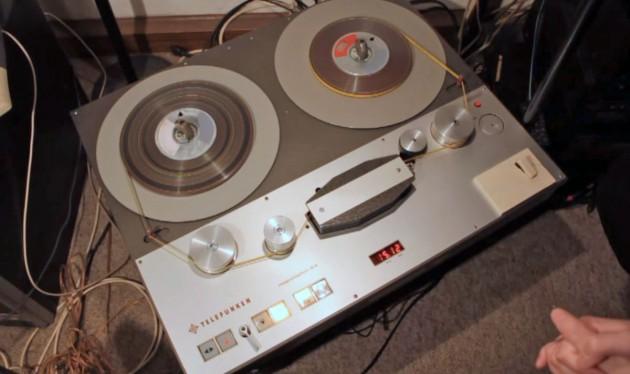 Ehemals Standard beim deutschen Rundfunk: Das Magentophon von Telefunken.