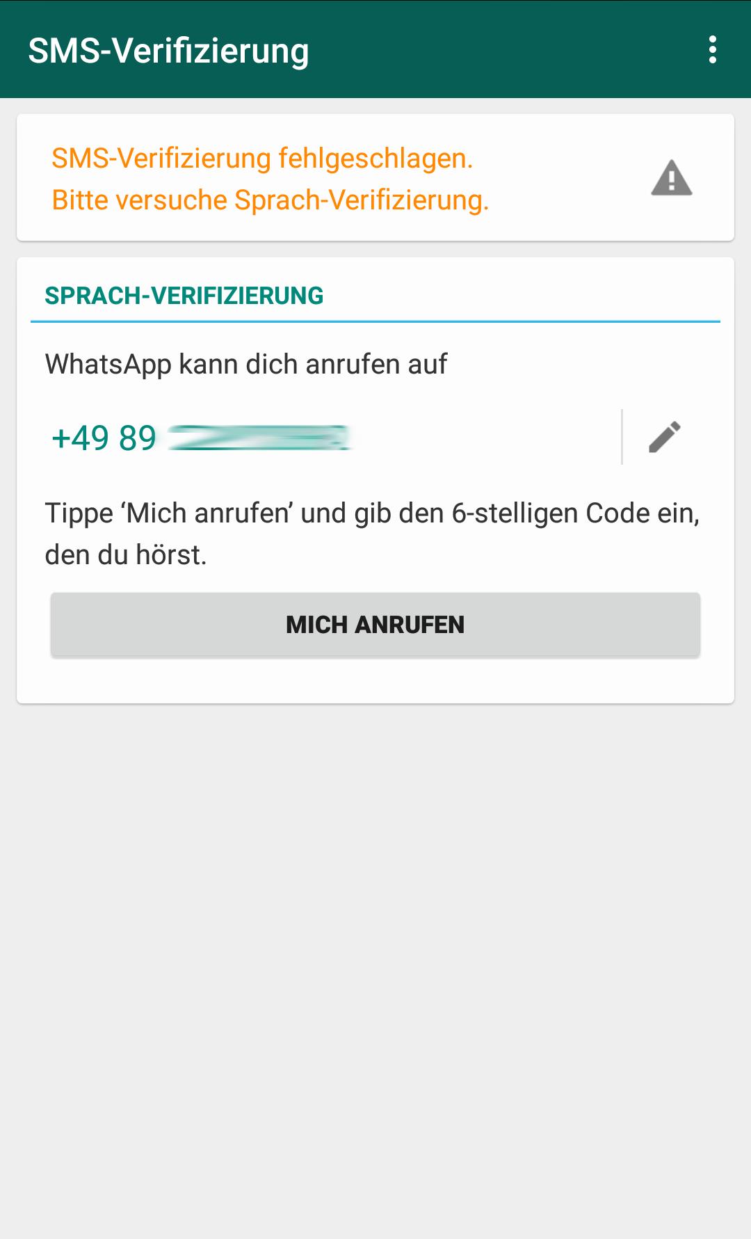 whatsapp 6 stelliger code hacken